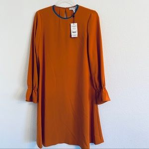 NWT LK Bennett Darlin dress Size 4 Amber $415